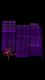 aesthetic purple iphone sad phone quotes trendy screen mobile backgrounds pop