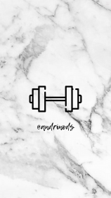 Instagram highlight covers Gray marble Fitness