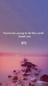 bts lyrics song quotes quote background wallpapers backgrounds sea qoutes iphone