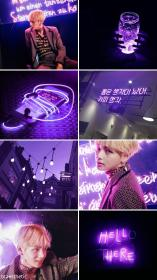 bts aesthetic wallpapers collage purple taehyung kim backgrounds wings iphone galaxy cool phone quotes kpop bf