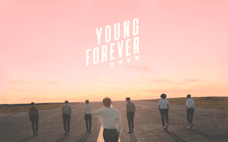 desktop pink wallpapers forever young bts laptop aesthetic backgrounds macbook tablet awesome ipad