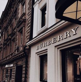 aesthetic boujee classy buildings luxury stores interior beige simply collage burberry luxe brown uploaded user poster luxxu