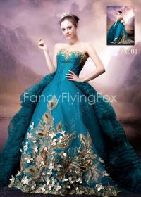 gothic ball gowns teal gown fancyflyingfox