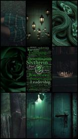 slytherin aesthetic wallpapers potter harry dark iphone