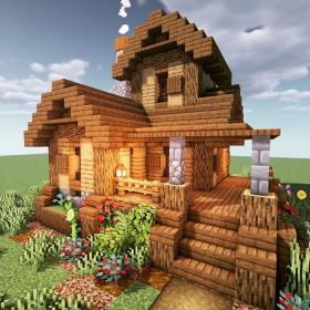 minecraft houses build casa cottage survival cool medieval farm minecrafthouses unique nice let villa building amazing ideen cabin construction nature