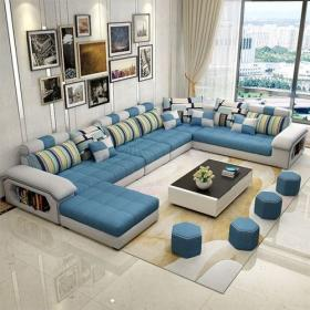 modernos lineales couches corr seater turquesa sectionnel