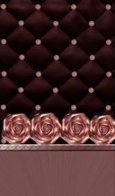 gold rose iphone bling wallpapers backgrounds brown cute screensaver mobile phone screen unknown artist cellphone pattern brand wallpaperaccess