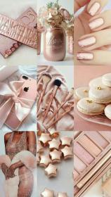 rose gold pink aesthetic iphone wallpapers blush backgrounds rosa decor desktop roses marble makeup cute tinta spray inspiration party
