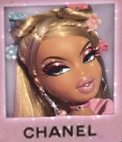 aesthetic bratz doll collage pastel wallpapers aesthetics baddie purple bad iphone makeup barbie pantalla glitter 90s backgrounds fondos outfits icon