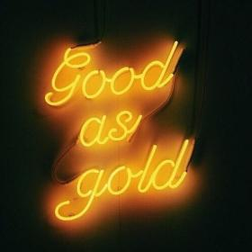 aesthetic yellow neon lights golden gold angel colors rover