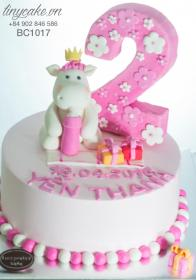 cake birthday baby years cakes horse olds making banh kem đẹp pretty vn