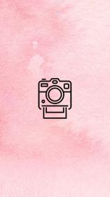 pink story camera polaroid iconos iphone blush highlight insta covers icons friends stories backgrounds fondos template followers обои logotipo salvo