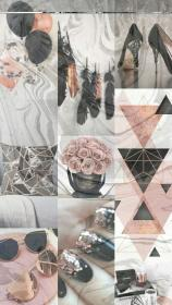 WALLPAPERS — Rose gold collage Rose gold aesthetic, Rose