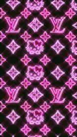 kitty hello aesthetic lida iphone egirl lv backgrounds collage sparkly phone edgy birrei trippy