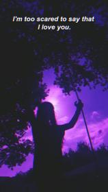 sad aesthetic wallpapers purple iphone phone dope screen uploaded girly landscape