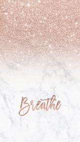 background wallpapers iphone modern marble rose girly gold glitter cute backgrounds ombre aesthetic breathe pretty homescreen trendy