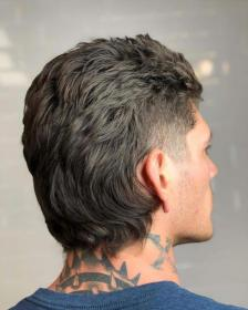 mullet fade hairstyles haircut haircuts hairstyle mohawk pelo boy cortes mullets hombre menshairstyletrends corte hard sides cut temp temple textured