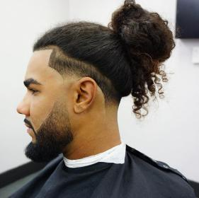 bun taper haircut hair fade haircuts hairstyle long hairstyles low styles tapered cool most blowout line mens menshairstyletrends side straight