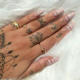 tattoos hand finger tattoo fingers hands multiple eye want tat styleoholic handtattoos ink