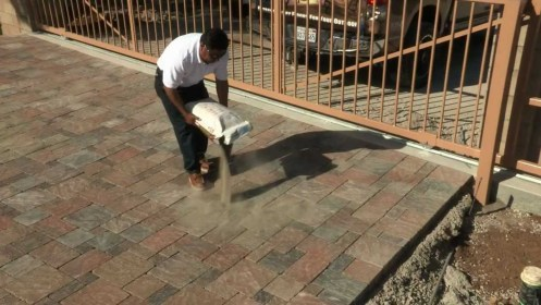 Techniseal Polymeric Sand for Paver Joints Installation