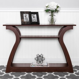 console accent entryway shelf decorative 47in display walmart choice displays