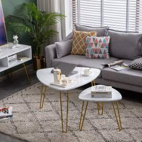 living room tables table side coffee modern furniture nesting decor end marble simple sets contemporary accent bedside balcony