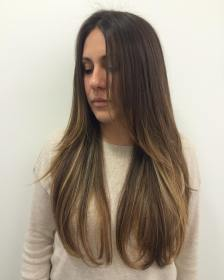 layered long hairstyle straight hairstyles designs