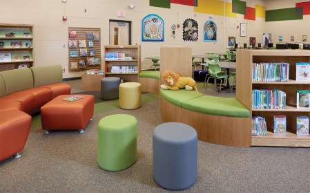 library elementary children lincoln spaces decor reading decorating demco abraham furniture seating interior demcointeriors designing areas decorations idea libraries checklist