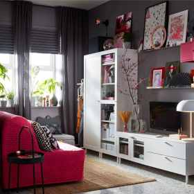 ikea living room storage space rooms hour algot lounge standout grey