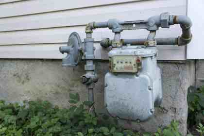 gas meter residential natural line installed installation cost pressure regulator services service outside propane safety costs inspection components granbury location