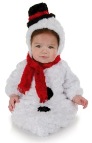 snowman baby christmas bunting cute card newborn infant costume holiday brand hat