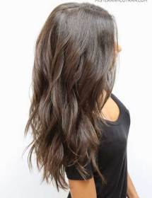 hair layered long capas hairstyles cut cortes cabello corte pelo largo haircut gorgeous brown hairstyle askhairstyles lights wavy low layers