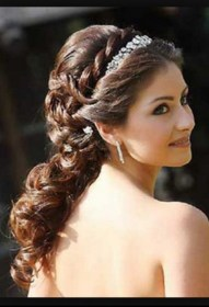 hairstyles quinceanera side curls hairstyle hair short latest