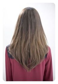 cut corte largo pelo hairstyles uve cortes shape cabello capas haircut haircuts short layered layers hairstyle cuts nails designpacker lacio