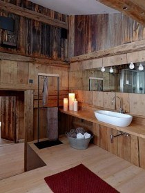 rustic bathroom bathrooms luxury wood wrought complement frames terms mirror iron everything features accessories which maison