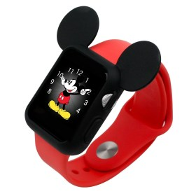 mickey apple mouse ears case disney silicone amazon 42mm character characters protective gifts 38mm accessories watches ear popsugar apples i1186