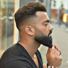 beard fade faded styles long short thick low cool shape curly razor guide