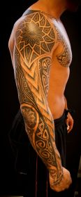 arm tattoos tattoo designs guys sleeve cool chest mens polynesian shoulder awesome tatoo guy tribal tatto sleeves male tattooed coolest