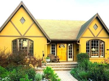 exterior yellow paint colors popular strong going