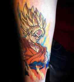 anime tattoos tattoo manga forearm japanese guys cool pull satisfied certainly artistic rich choose base leave sold etsy