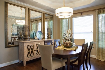 mirrors dining rooms
