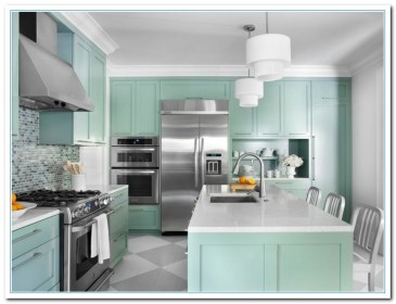 paint color ideas for kitchen cabinets1