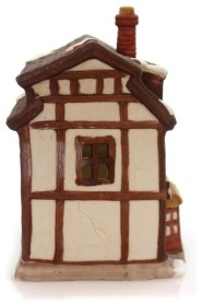 holiday figurines accents village houses dickens shops contemporary swan department golden houzz