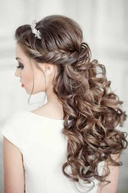 quinceanera hairstyles double braid