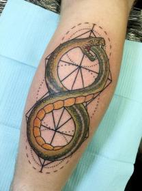 tattoo ouroboros snake designs infinity tattoos sobriety snakes meaning lines cool symbol celtic around goes source tatt comes music tatoos