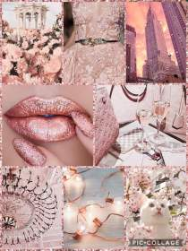 rose gold background aesthetic pop say think really much
