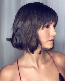 bob bangs hair short thick hairstyles haircuts fringe low maintenance cuts blunt dobrev nina easy rounded theplace2 pophaircuts