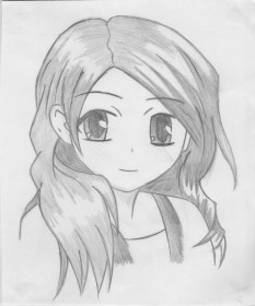 anime pencil drawings drawing easy sketches face pretty cartoon sketch paintingvalley draw kawaii right explore tynker