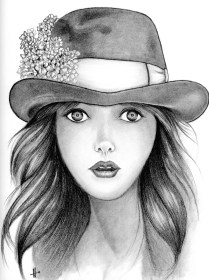 sketch portrait pencil sketches drawing face easy sketching drawings woman faces paintingvalley sad penci salvo uploaded user