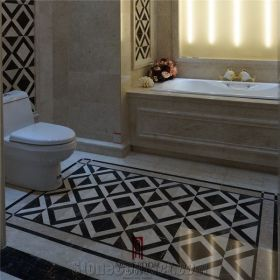 marble floor temple pattern tile wall beige nero marquina composite india cross background stonecontact china